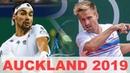 Fabio Fognini vs Peter Gojowczyk Highlights AUCKLAND 2019