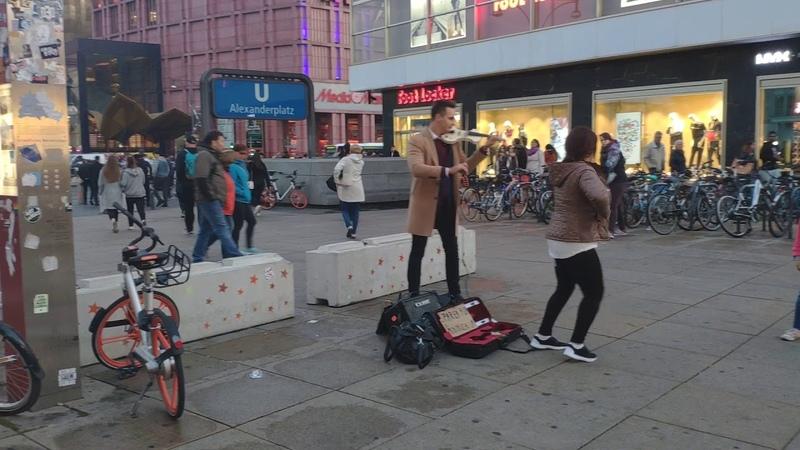 AlexanderPlatz street Performers in Berlin Germany - 6