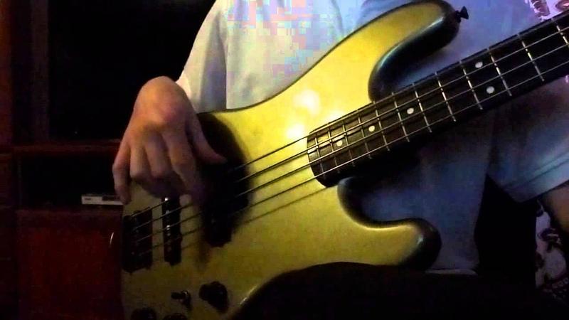 КИНО Война bass cover