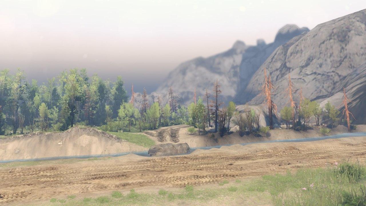 Карта пгт. Куйбышево для 23.10.15 & 8.11.15 для Spintires - Скриншот 3
