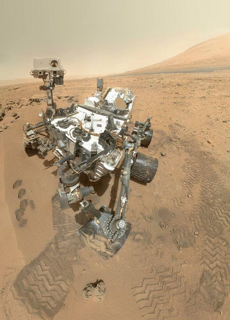 Cферическая интерактивная панорама Марса