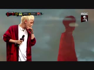 DONGHYUK IMPERSONATING G-DRAGON WITH FULL ACCURACY OMFG THIS IS GOLD -