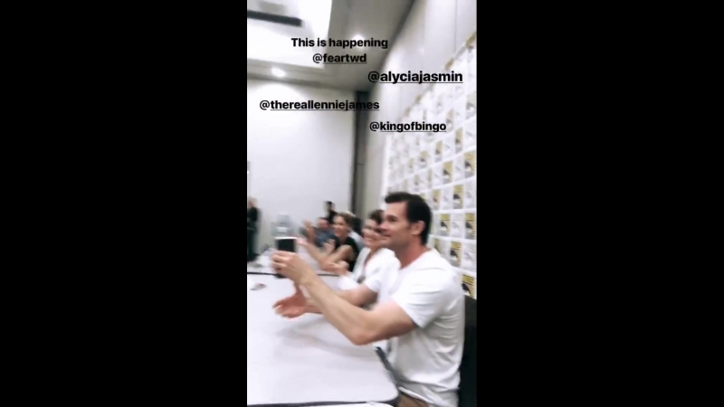 Видео из инстаграма Денай Гарсии