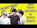 Cute moments of Papa Singto Mama Krist with Baby Fiat because it's too precious ครอบครัวตัวP pt 1