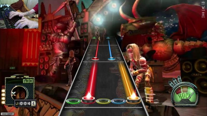 Knife Party - Centipede (Flash Guitar Hero by Kreemons)