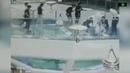 Китаянка упала в аквариум с акулами во время кормления