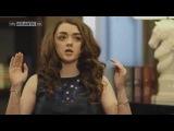 Thronecast - Maisie Williams (Arya Stark) Interview Season 4