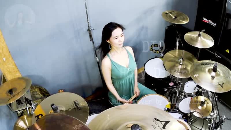 DIO - Holy Diver drum cover by Ami Kim (47)