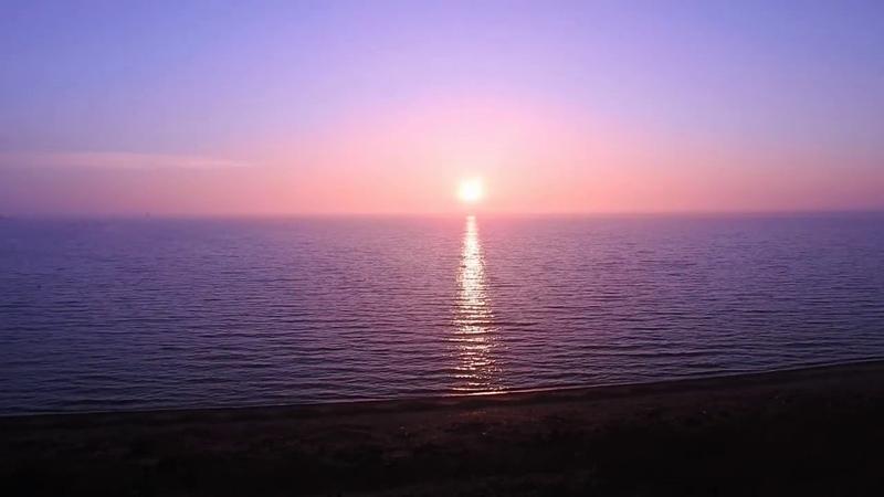 Рассвет керченского пролива.Crimea.