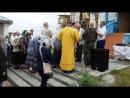 Крестный ход во время празднования престольного праздника в приходе во имя святых первоверховных апостолов Петра и Павла с.Кисло