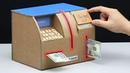 Build Personal ATM Machine Withdraw and Deposit Money from Cardboard
