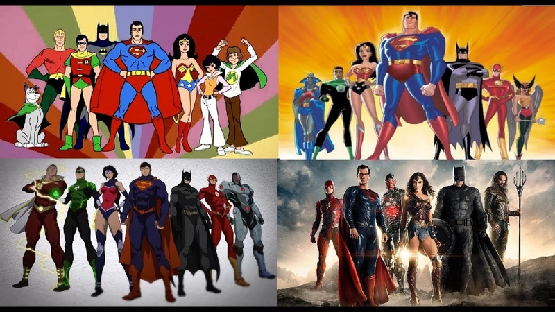 Justice League - Evolution in TV Films (1967-2017)