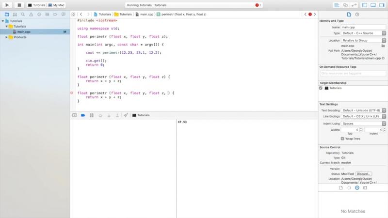 [Гоша Дударь] Уроки C с нуля / Урок 16 - Перегрузка функций