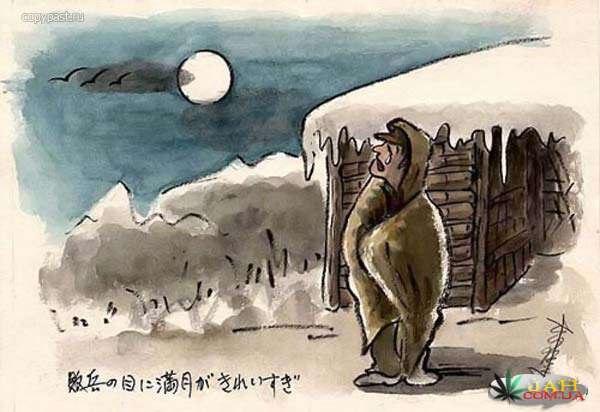 Дневник в картинках японца-военнопленного