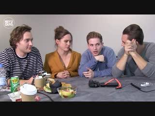 The Last Kingdom Season 3 Harry McEntire, Alexander Dreymon, Toby Regbo Emily Cox