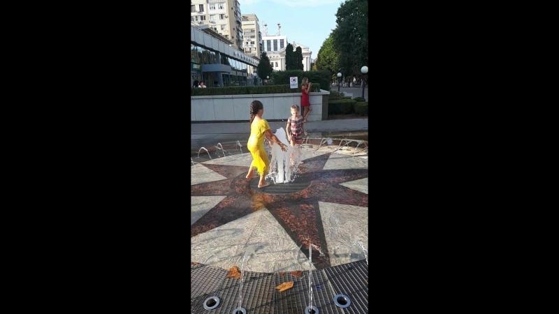 фонтанные танцы на Кубани
