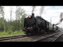 Отправление из Павловска ретро поезда