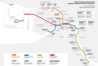 В 2013 году в Петербурге действует только одна линия водного транспорта - Приморская.