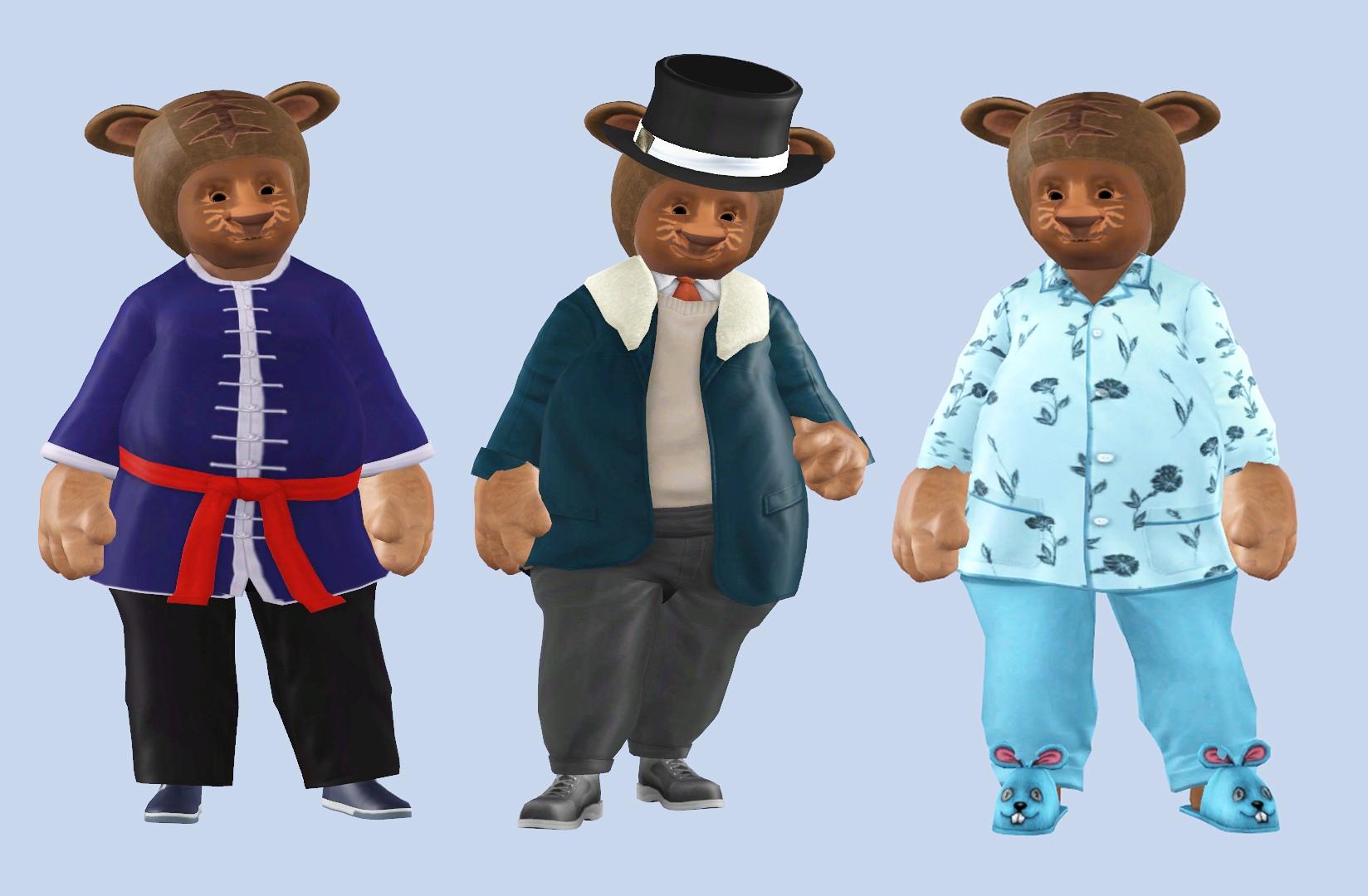 сим для симс 3 медведь