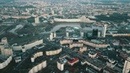 Nemiga Minsk Belarus footage drone video