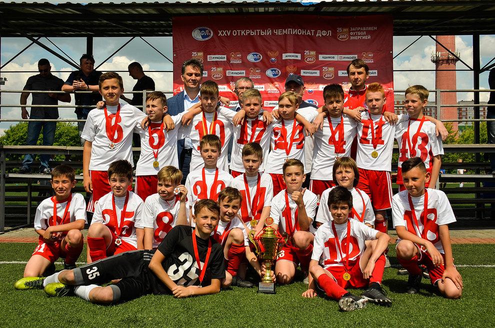 Команда СШ «Витязь» 2006 г.р. примет участие в финальном этапе XXV Открытом Чемпионате ДФЛ
