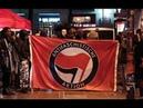 USA Antifa ruft zu gewaltsamem Umsturz auf Medien und linke Politiker verharmlosen