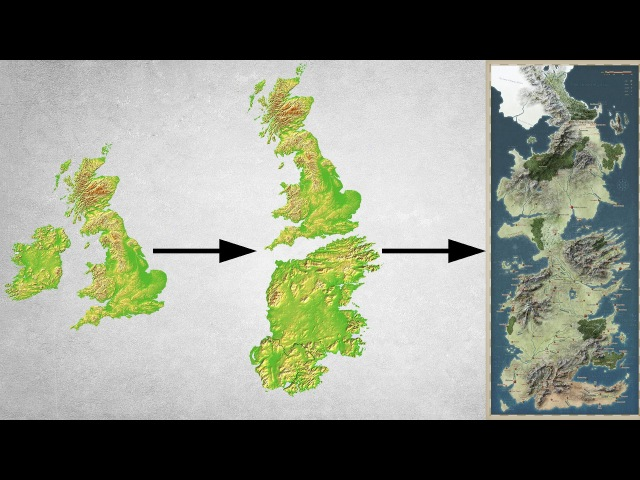 The Real Life Game of Thrones Part 1 Is Great Britain Westeros