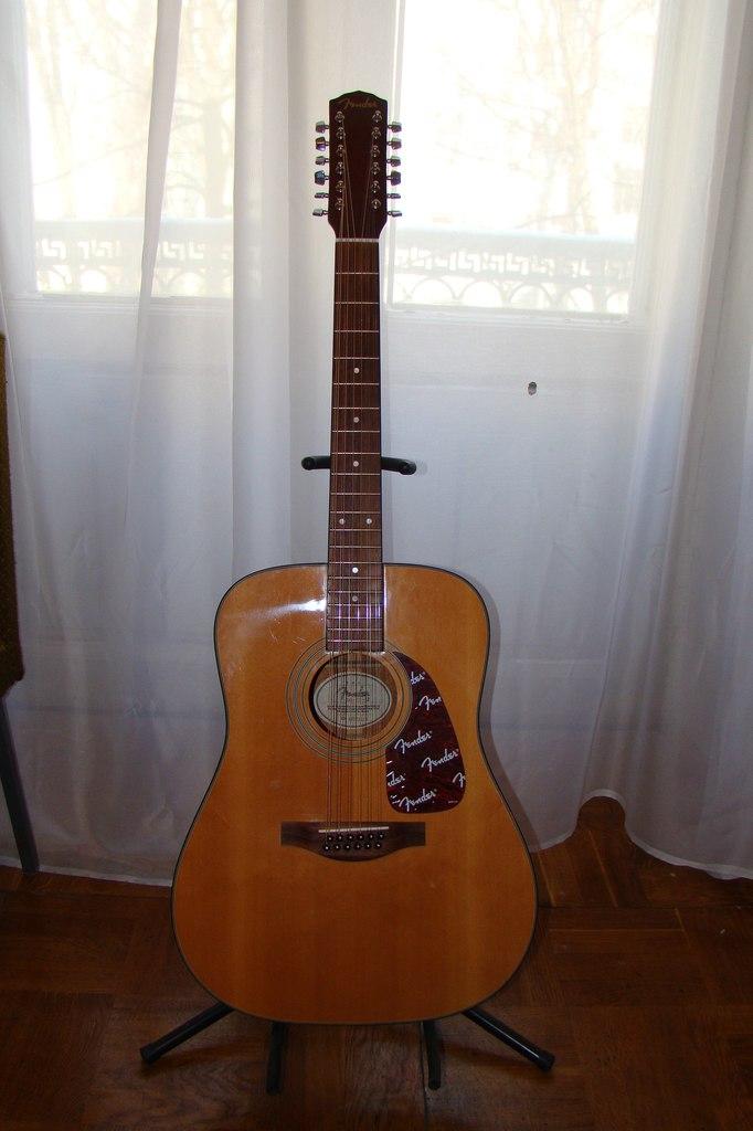 Эта гитара появилась в коллекции А.Я.Розенбаума в 2012 году.  Инструмент не имеет ни пьезодатчика, ни преампа.