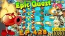 Plants vs. Zombies 2 - FIRE PEASHOOTER - Epic Quest Premium Seeds (Ep.428)