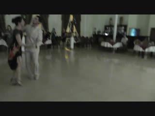 Милонга 21.10.18 Полька от Джонатана и Юлии. Второй общий танец. Ресторан Империя