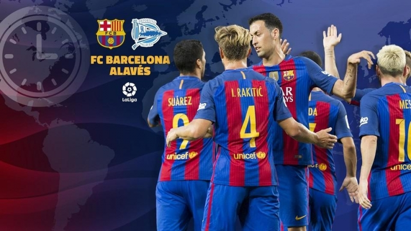 Прямая трансляция: Барселона - Алавес