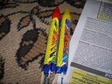 Модернизируем ракету Rubin 22(Kometa) петардой / Modern Rocket Rubin 22