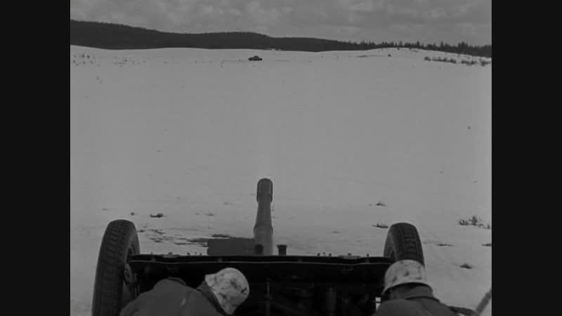 08 15 (1954) Бой немецких артиллеристов с советскими танками