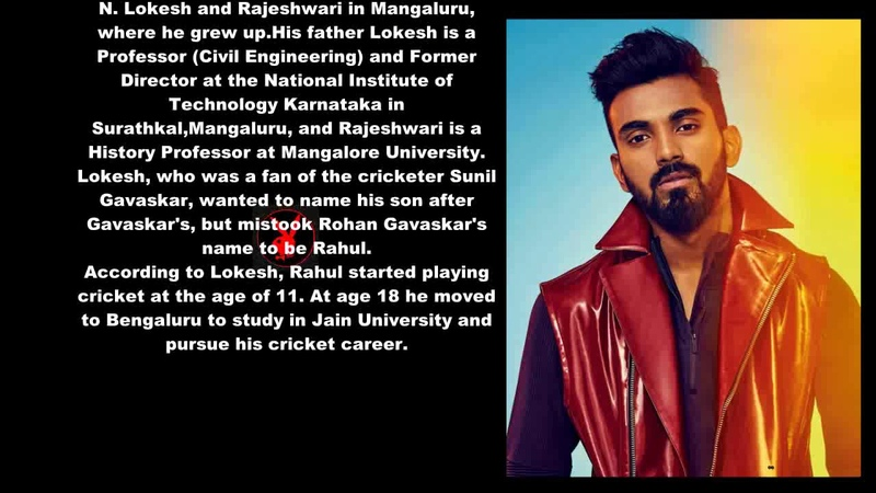 KL Rahul Biography With Detail