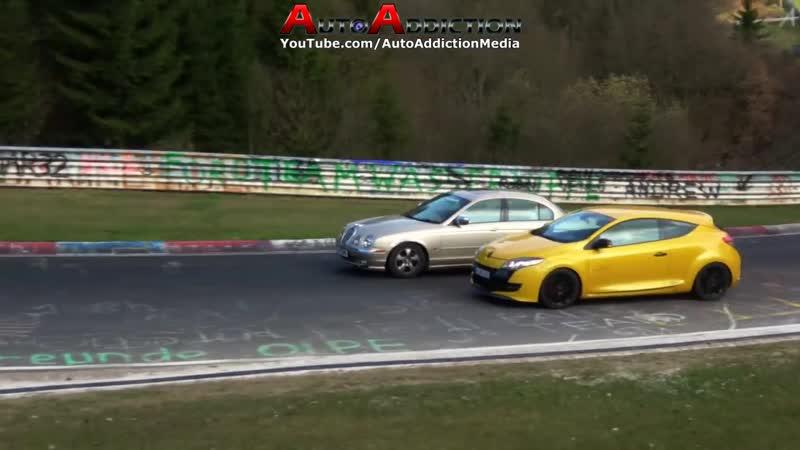 Nordschleife 02 04 2017 - Highlights, Weird Cars ;) Action! - Touristenfahrten Nürburgring