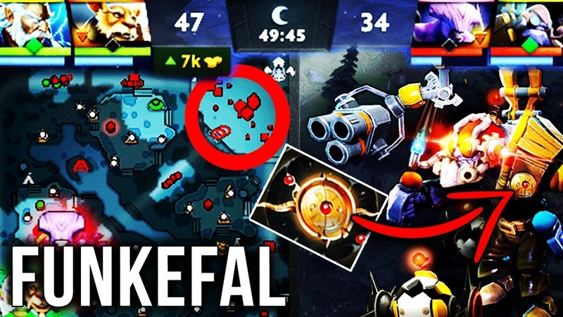 Funkefal TOP 1 Tinker FASTEST HANDS In Dota 2 New Aeon Disk Build EPIC Gameplay