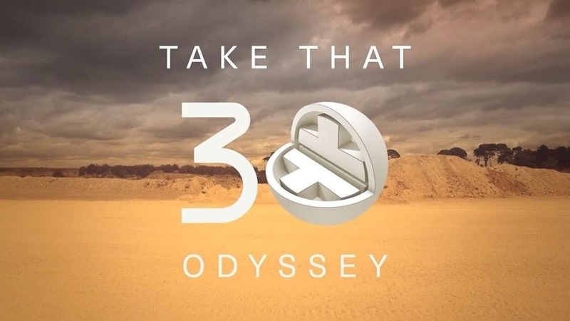 "Take That on Instagram: ""We loved giving some of our favourite songs a little twist on Odyssey! Can't wait to celebrate the last 3 decades of Take..."