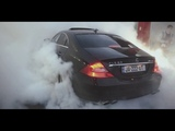 Mercedes Benz CLS 63 AMG Burnout