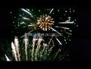 Праздничный салют в честь 239 ой годовщины со дня основания г Горловка