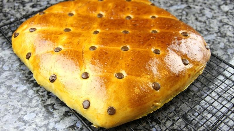 Мягкий как ПУХ дрожжевой пирог Подушка с Нутеллой. Потрясающе вкусный пирог с шоколадной начинкой.