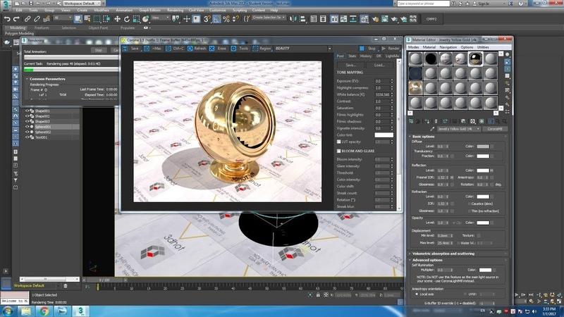 Material 3dsmax - Hướng dẫn tạo vật liệu trong 3dsmax