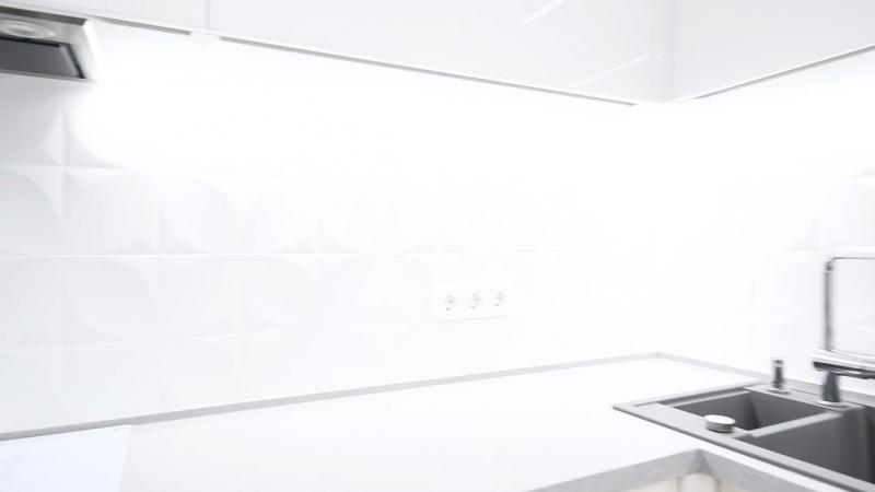 Белая идеальная кухня
