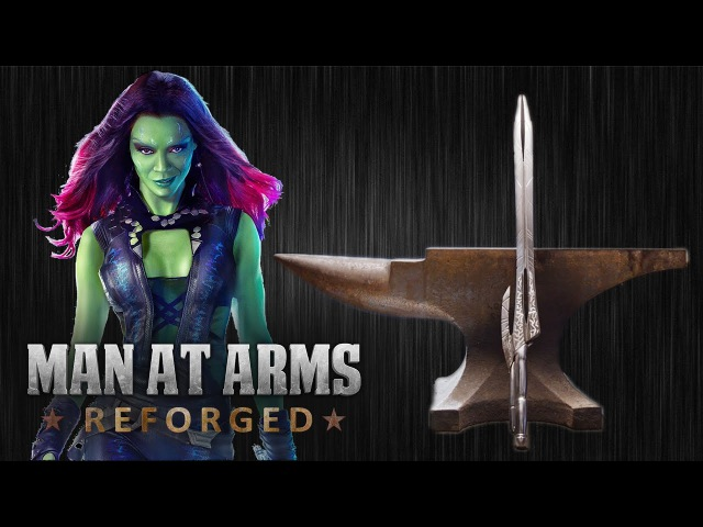 Gamora's Godslayer - Guardians Of The Galaxy - MAN AT ARMS: REFORGED
