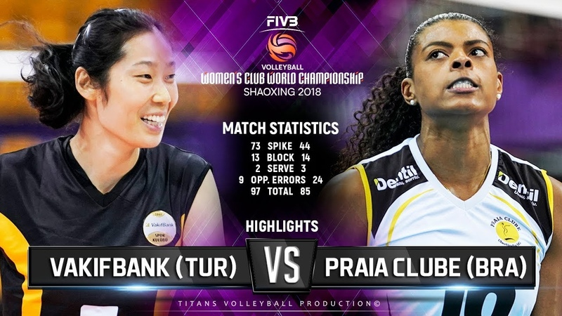 VakifBank (TUR) vs. Praia Clube (BRA) - Highlights | FIVB Womens Club World Championships 2018