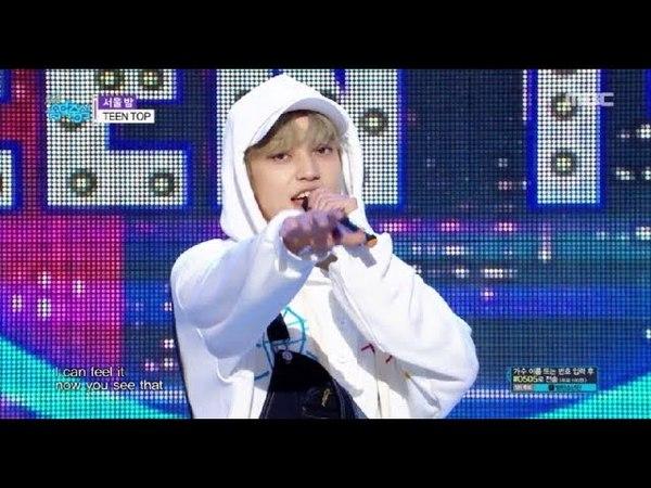 [HOT] TEEN TOP - SEOUL NIGHT , 틴탑 - 서울 밤 Show Music core 20180526