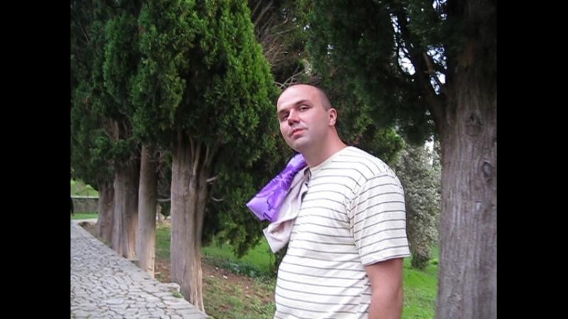 Абхазия.Новый Афон ,монастырь,Дима танцует 2010