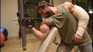FIRST BICEP WORKOUT, THE REAL REASON I TORE MY TENDON