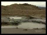 Азербайджан. Azerbaijan. Грязевые вулканы. Mud volcanoes.
