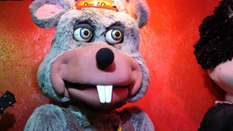Fractured Rock Medley- Chuck E. Cheese- Pizza Time Theatre- Smitty's Super Service Station