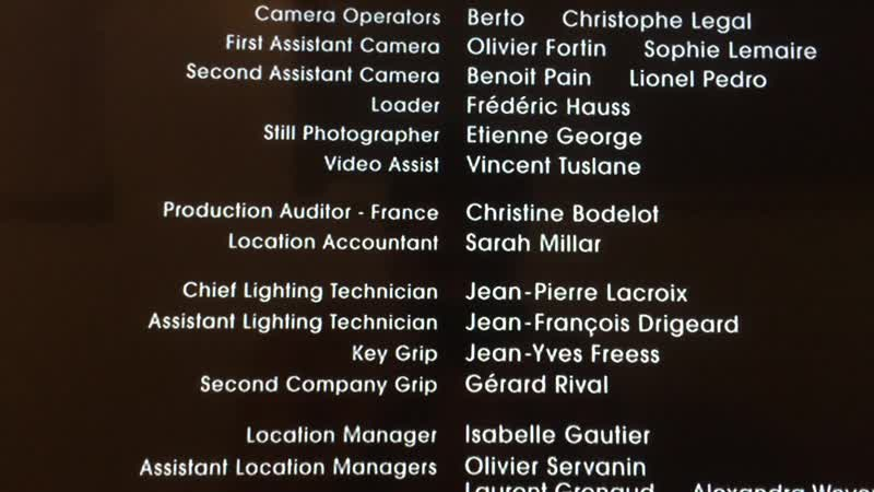 Movie End Credits 22 The Pink Panther 2006